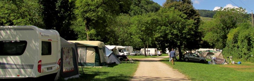 Camping ouvert du 1er Avril au 30 Septembre